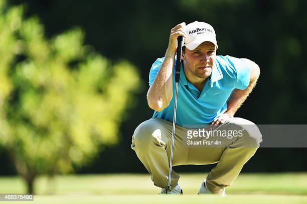 Maximilian Kieffer of Germany in action during the final round of the Tshwane Open at Pretoria Country Club on March 15 2015 in Pretoria South Africa