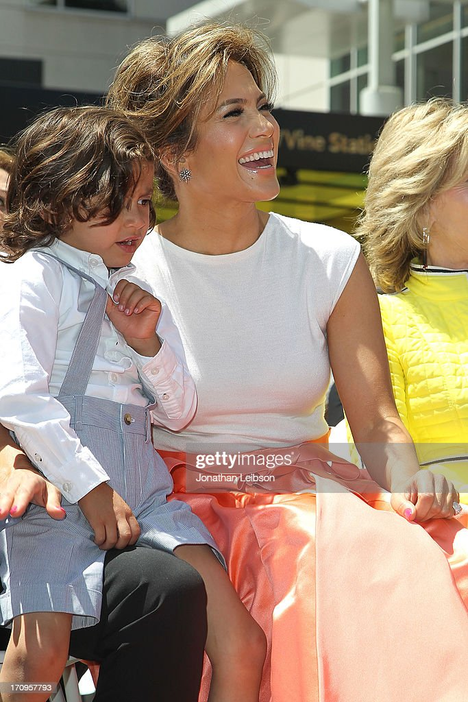 Maximilian Muniz and <a gi-track='captionPersonalityLinkClicked' href=/galleries/search?phrase=Jennifer+Lopez&family=editorial&specificpeople=201784 ng-click='$event.stopPropagation()'>Jennifer Lopez</a> at <a gi-track='captionPersonalityLinkClicked' href=/galleries/search?phrase=Jennifer+Lopez&family=editorial&specificpeople=201784 ng-click='$event.stopPropagation()'>Jennifer Lopez</a> Honored With Star On The Hollywood Walk Of Fame on June 20, 2013 in Hollywood, California.