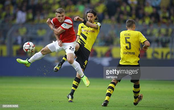 Maximilian Philipp Neven Subotic Fußball 1Bundesliga Borussia Dortmund SC Freiburg 31 1392014