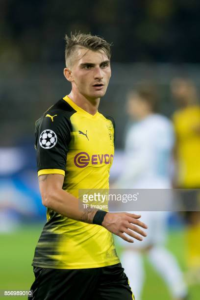 Maximilian Philipp of Dortmund looks on during the UEFA Champions League group H match between Borussia Dortmund and Real Madrid at Signal Iduna Park...