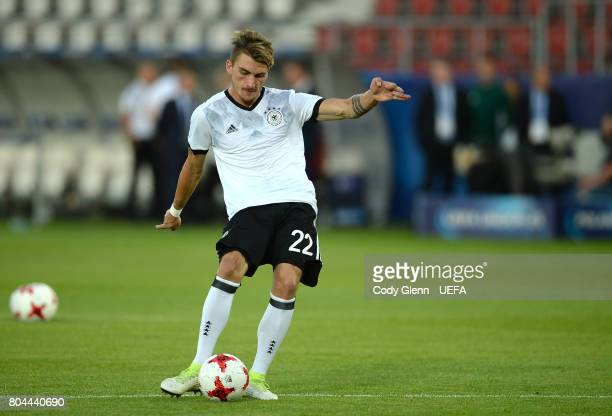 Maximilian Philipp of Germany before the UEFA European Under21 Championship 2017 final match against Spain on June 30 2017 in Krakow Poland