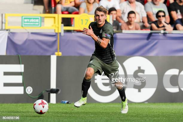 Maximilian Philipp of Germany in action during the UEFA European Under21 Championship Semi Final match between England and Germany at Tychy Stadium...