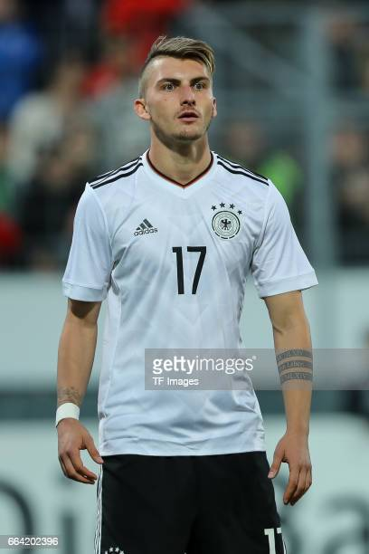 Maximilian Philipp of Germany looks on during the International Friendly match between Germany U21 and Portugal U21 at GaziStadion on March 28 2017...