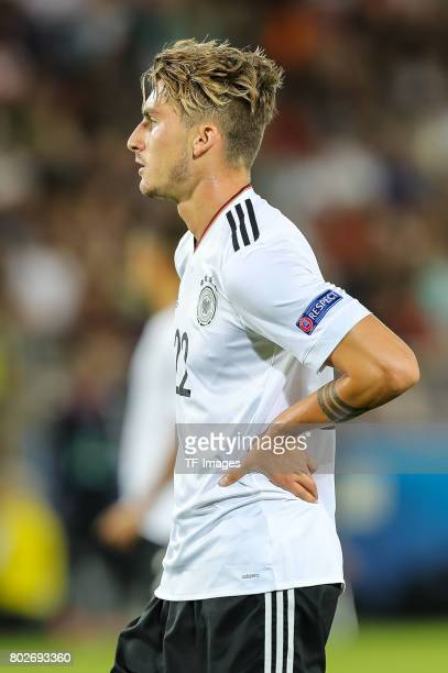 Maximilian Philipp of Germany looks on during the UEFA U21 championship match between Italy and Germany at Krakow Stadium on June 24 2017 in Krakow...
