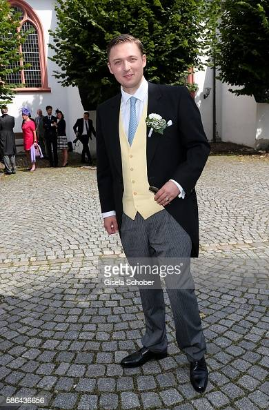 maximilian-prinz-zu-saynwittgenstenberleburg-arrives-to-his-wedding-picture-id586436656
