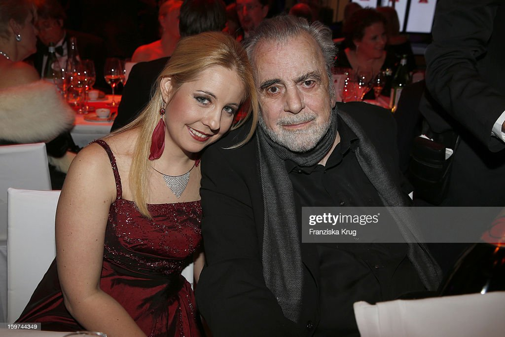 Maximilian Schell and his daughter Nastassja Schell attend the Germany Filmball 2013 on January 19, 2013 in Munich, Germany.
