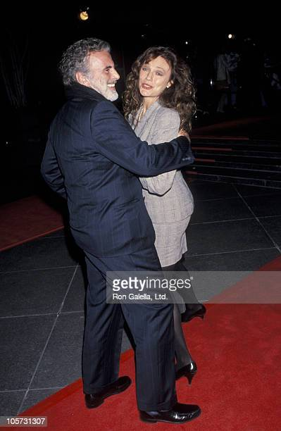 Maximilian Schell and Jacqueline Bisset during Los Angeles Premiere of HBO's 'Stalin' at Director's Guild in Hollywood California United States
