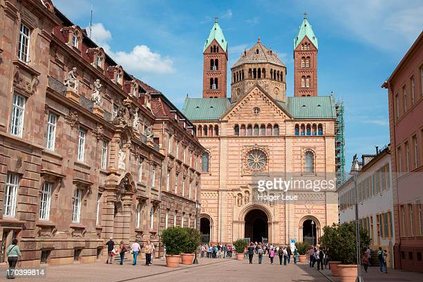 Maximilianstrasse and Speyer Cathedral