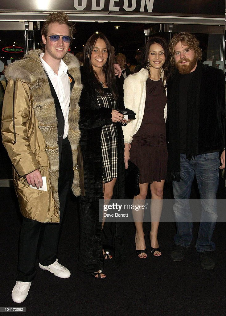 Maximillion Cooper With Ryan Dunn (jackass), Gumball 3000 Movie Premiere At The Odeon, Leicester Square, London