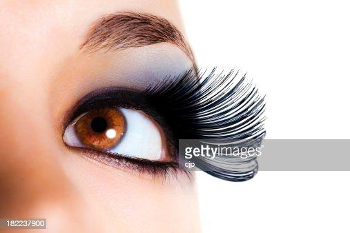 Maximum Volume Eyelashes - Black