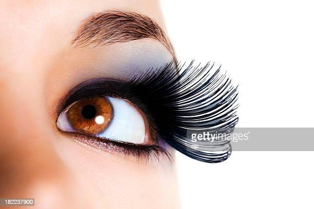 Maximum Volume Eyelashes - Black