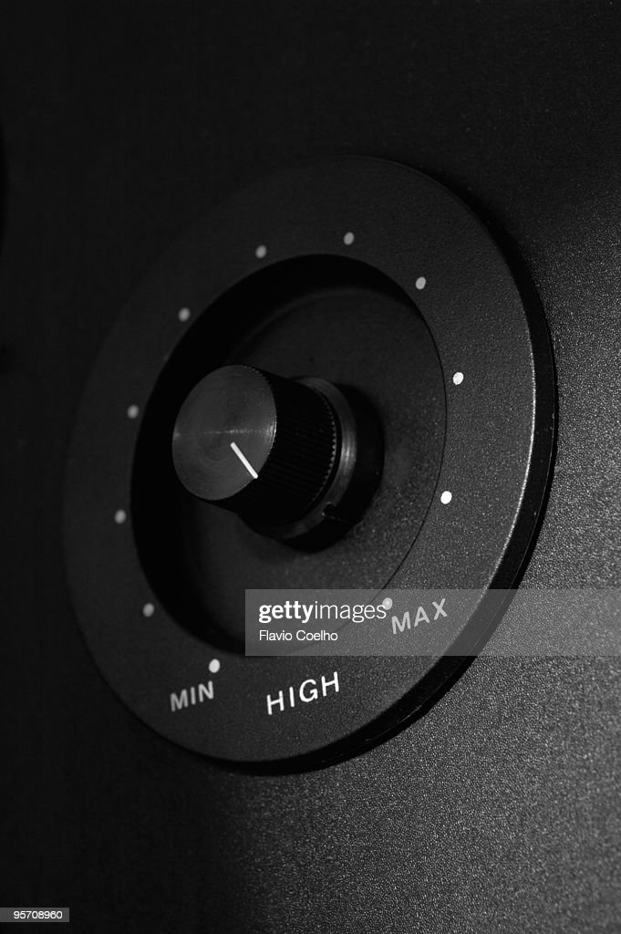 Maximum volume : Stock Photo