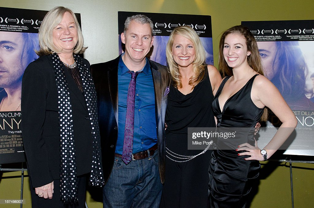 Maxine Macover, Travis Fine, Christina Fine and Savanna Fine attend the 'Any Day Now' premiere at Sunshine Landmark on December 3, 2012 in New York City.