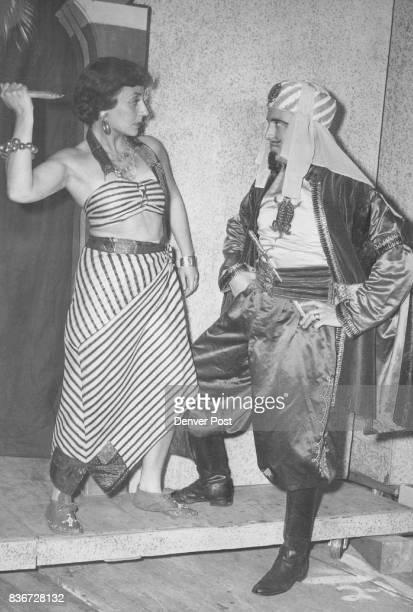 Maxine Murray as 'Azuri' and Don Tenorio as 'Sid El Kar' Credit Denver Post