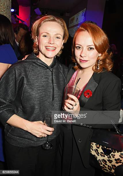 Maxine Peake and Alice Sykes attend The Bash at The Royal Court Theatre a gala night of celebration to support the next 60 years of radical new...