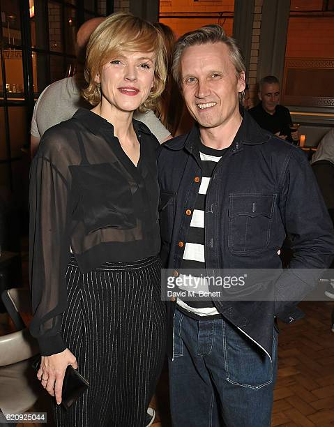 Maxine Peake and Pawlo Wintoniuk attend the STYLE x PRINCIPAL Party at The Principal Manchester on November 3 2016 in Manchester England