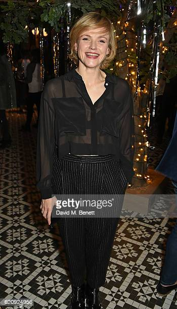 Maxine Peake attends the STYLE x PRINCIPAL Party at The Principal Manchester on November 3 2016 in Manchester England