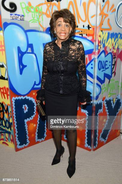 Maxine Waters attends Glamour's 2017 Women of The Year Awards at Kings Theatre on November 13 2017 in Brooklyn New York