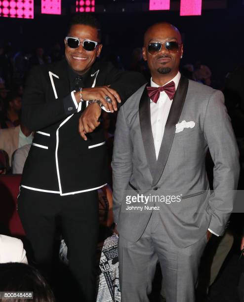 Maxwell and Big Tigger at 2017 BET Awards at Microsoft Theater on June 25 2017 in Los Angeles California