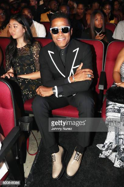 Maxwell at 2017 BET Awards at Microsoft Theater on June 25 2017 in Los Angeles California