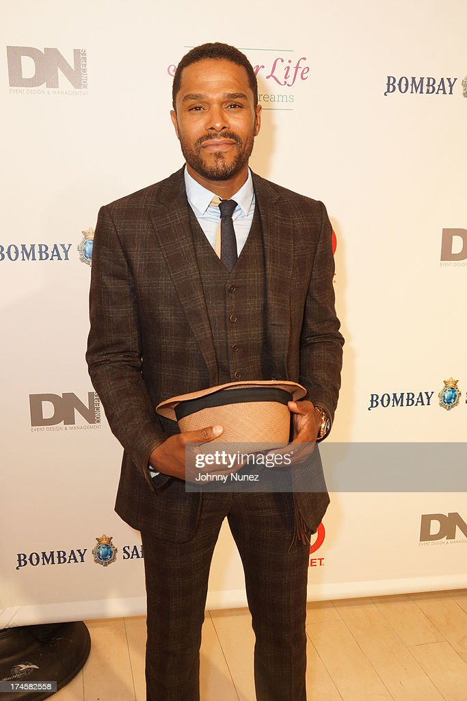 Maxwell attends the 14th Annual Art For Life Gala: A Field Of Dreams at Fairview Farms on July 27, 2013 in Bridgehampton, New York.