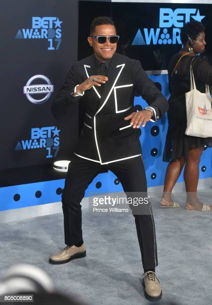 Maxwell attends the 2017 BET Awards at Microsoft Theater on June 25 2017 in Los Angeles California
