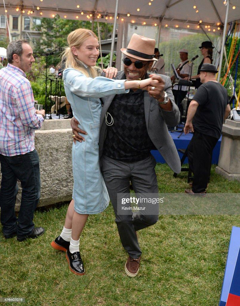Maxwell attends the Stella McCartney Spring 2016 Resort Presentation on June 8, 2015 in New York City.