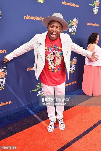 Maxwell of Nick Radio attends the Nickelodeon Kids' Choice Sports Awards 2015 at UCLA's Pauley Pavilion on July 16 2015 in Westwood California