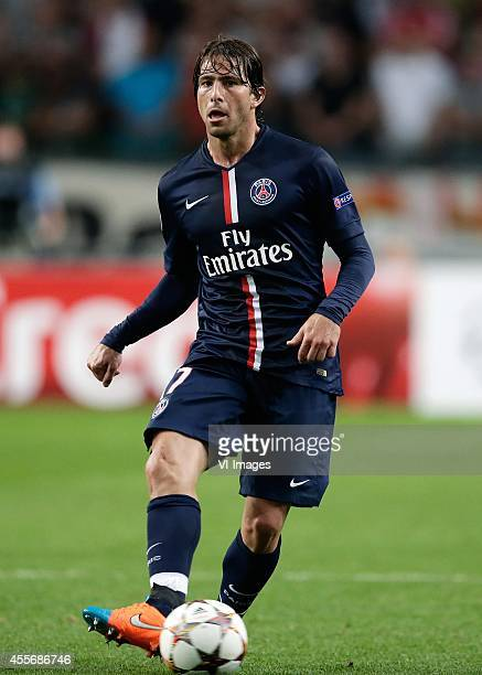 Maxwell of Paris Saint Germain during the UEFA Champions League group F match between Ajax Amsterdam and Paris SaintGermain on September 17 2014 at...