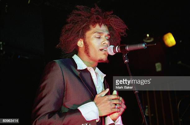 Maxwell performs at the Hanover Grand London circa 1996