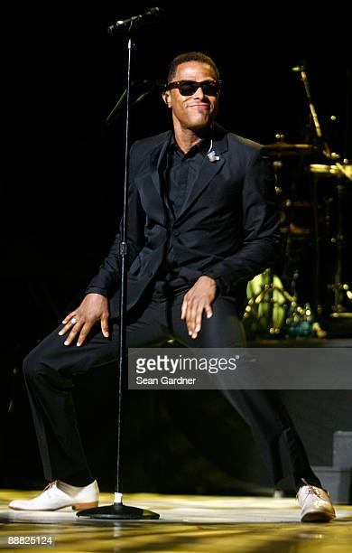 Maxwell performs during the 2009 Essence Music Festival at the Louisiana Superdome on July 4 2009 in New Orleans