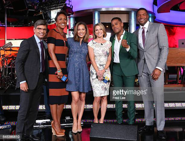 AMERICA Maxwell performs live on 'Good Morning America' 7/7/16 airing on the ABC Television Network GEORGE
