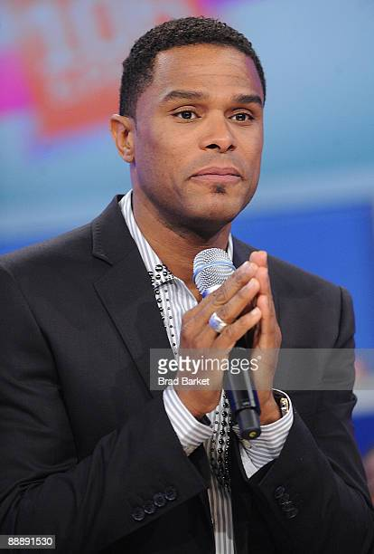 Maxwell visits BET's 106 Park at the BET Studios on July 7 2009 in New York City