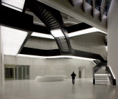 Maxxi National Museum Of 21St Century Arts Via Guido Reni Rome 4 A 00196 Roma Italy Architect Zaha Hadid Architects A View Of The Main Entrance...