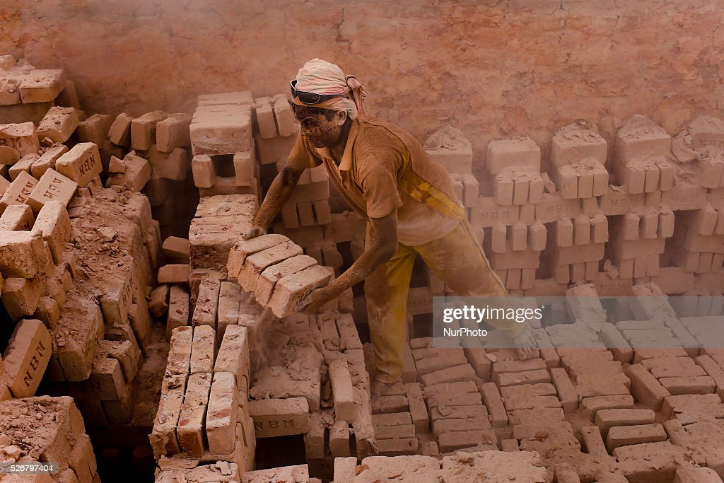 May 1, 2016 marks the International Labor Day, but still workers are working in a local brickfield. None of the workers here know about May Day. They only know that they have to work hard to earn their living.
