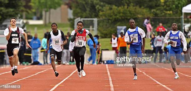May 12 2010ANDRE FORDAndre Ford Azonwanne a grade 9 student at Cardinal McGuigan high school runs in the 100 meter finals Wednesday May 12 2010 at...