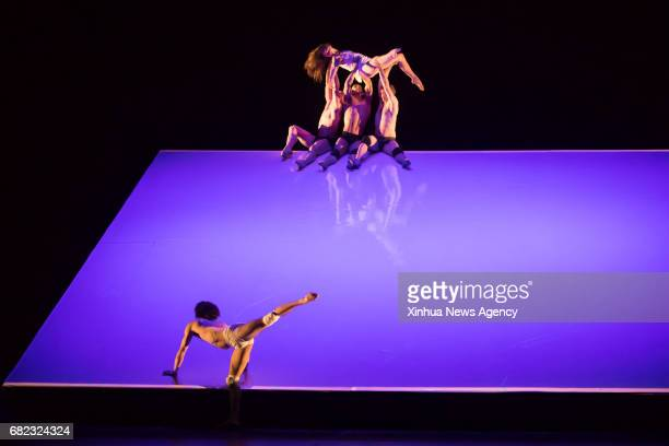 Dancers from the Hungarian National Ballet perform during a dress rehearsal of The Wooden Prince100 in the Hungarian State Opera House in Budapest...