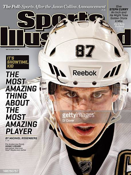 Hockey Closeup of Pittsburgh Penguins Sidney Crosby before face off during game vs Florida Panthers at BBT Center Sunrise FL CREDIT Eliot J...