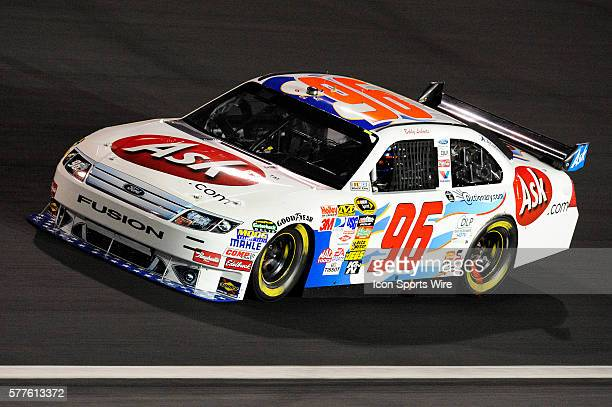 Bobby Labonte Hall of Fame Racing Ford Taurus in the 25th NASCAR Sprint AllStar Race race at the Lowes Motor Speedway in Concord NC