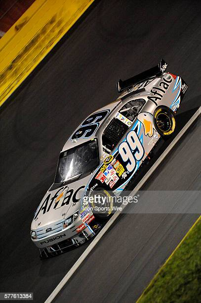 Carl Edwards Roush Fenway Racing Ford Taurus in the 25th NASCAR Sprint AllStar Race race at the Lowes Motor Speedway in Concord NC