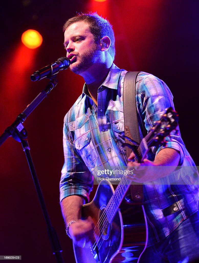 Wade Bowen performs at Texas Thunder Festival 2013 - Day 2. May 18, 2013 in Gardendale, Texas.