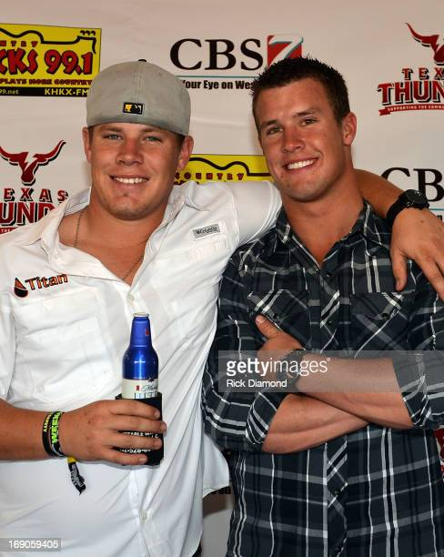 West TX Jarrod Harris and Heath Harris sons of Capt Kenneth 'Luckey' Harris Jr who was killed in the West TX fertilizer plant explosion Wednesday...