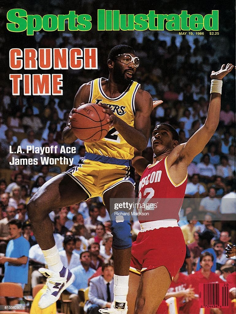 Los Angeles Lakers James Worthy 1986 NBA Western Conference