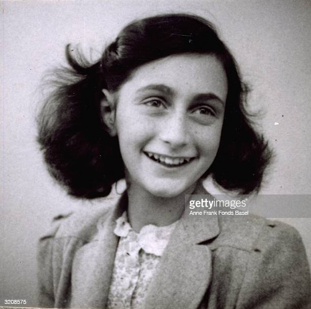 EXCLUSIVE A portrait of Anne Frank from her own photo album