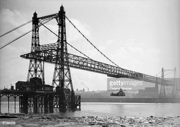 The transporter bridge at Widnes Lancashire