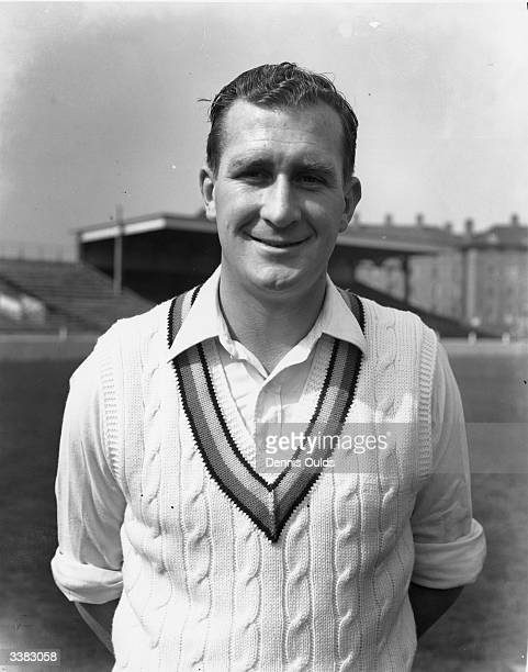The Surrey and England cricketer Jim Laker