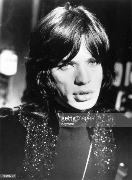 Rolling Stone Mick Jagger as he appears in the film 'Performance'
