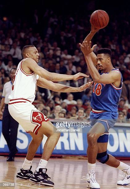 Center John Williams of the Cleveland Cavaliers moves the ball during a game against the Chicago Bulls The Bulls won the game 11289 Mandatory Credit...
