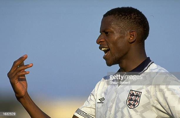 Portrait of Ugo Ehiogu of England B Mandatory Credit Shaun Botterill/Allsport