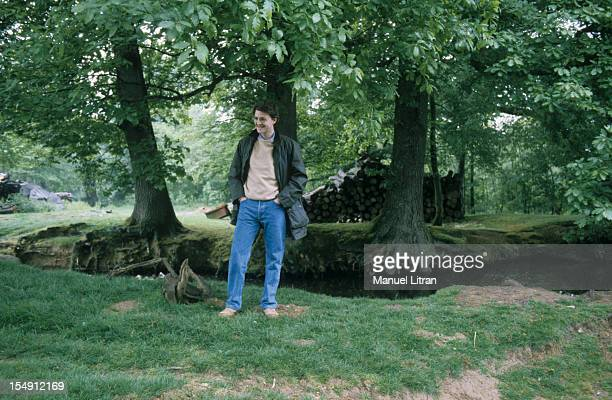 May 1995 Francois Baroin spokesman Juppe Government in a park